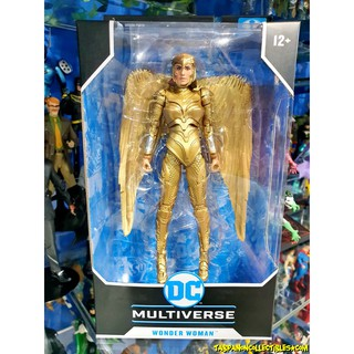Review [1/10] McFarlane DC Comics Wave 2 WM84 Wonder Woman Golden Armor 7-Inch Action Figure