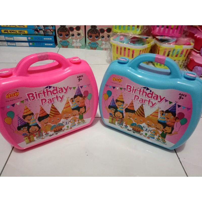กระเป๋าเดินทางของเล่นเด็กของเล่น / กระเป๋าเดินทางปาร์ตี้วันเกิด