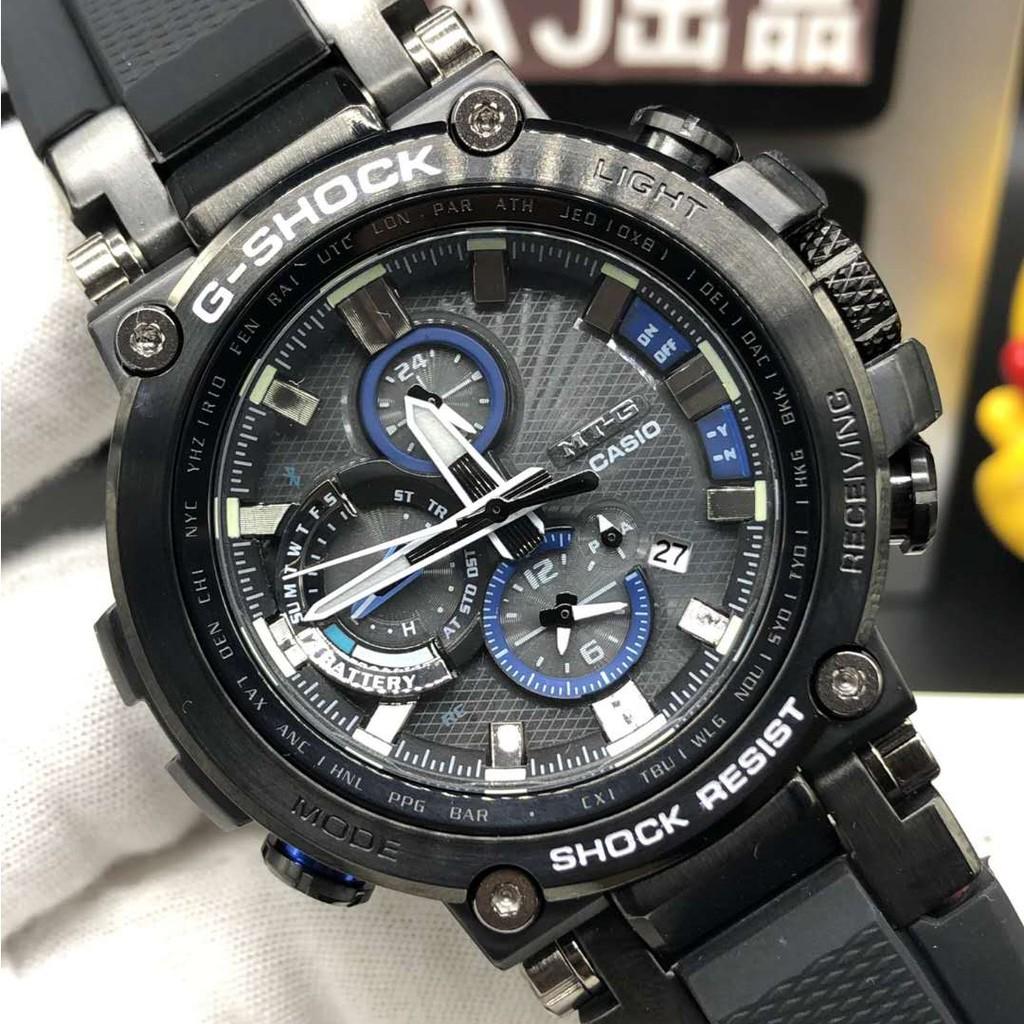 G - Shock ( Casio ) นาฬิกาข้อมือแฟชั่น Mtg - B 1000-1 A B 1000 D Bd Xb