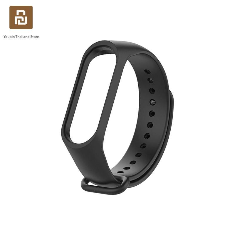 สาย applewatch สาย applewatch แท้ Xiaomi Mi Band 3/4 สายนาฬิกาข้อมือซิลิโคน TPU