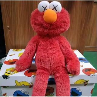 Kaws x sesame street Doll : UNIQLO PLUSH TOY / elmo , cookie Monster