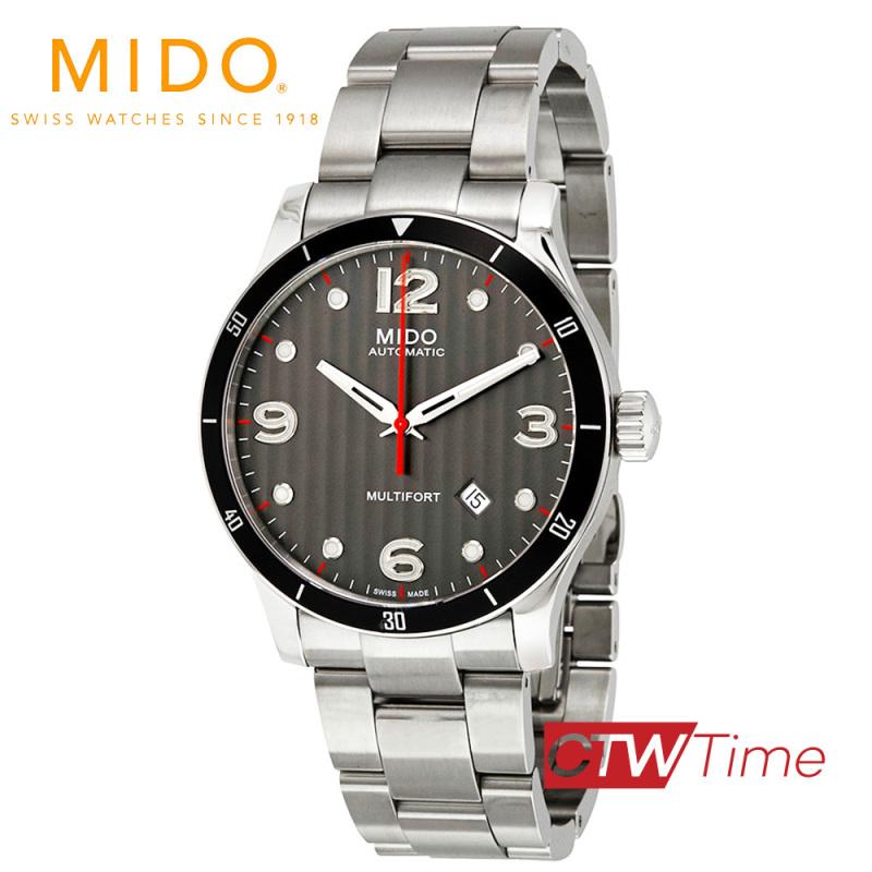 ส่งฟรี !! Mido Multifort Automatic นาฬิกาข้อมือผู้ชาย สายสแตนเลส รุ่น M025.407.11.061.00