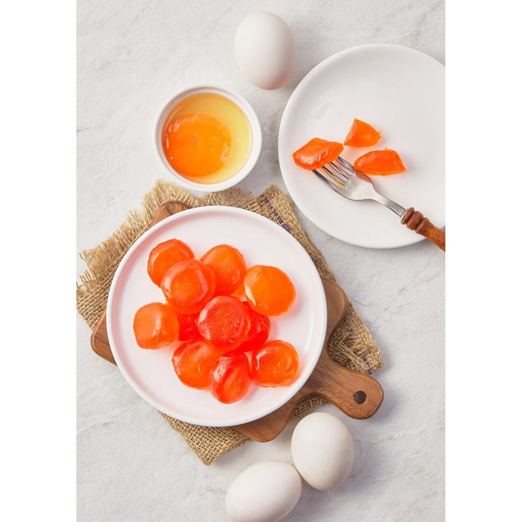 ไข่แดงเค็ม 1 แพค 25 ลูก 100 บาท