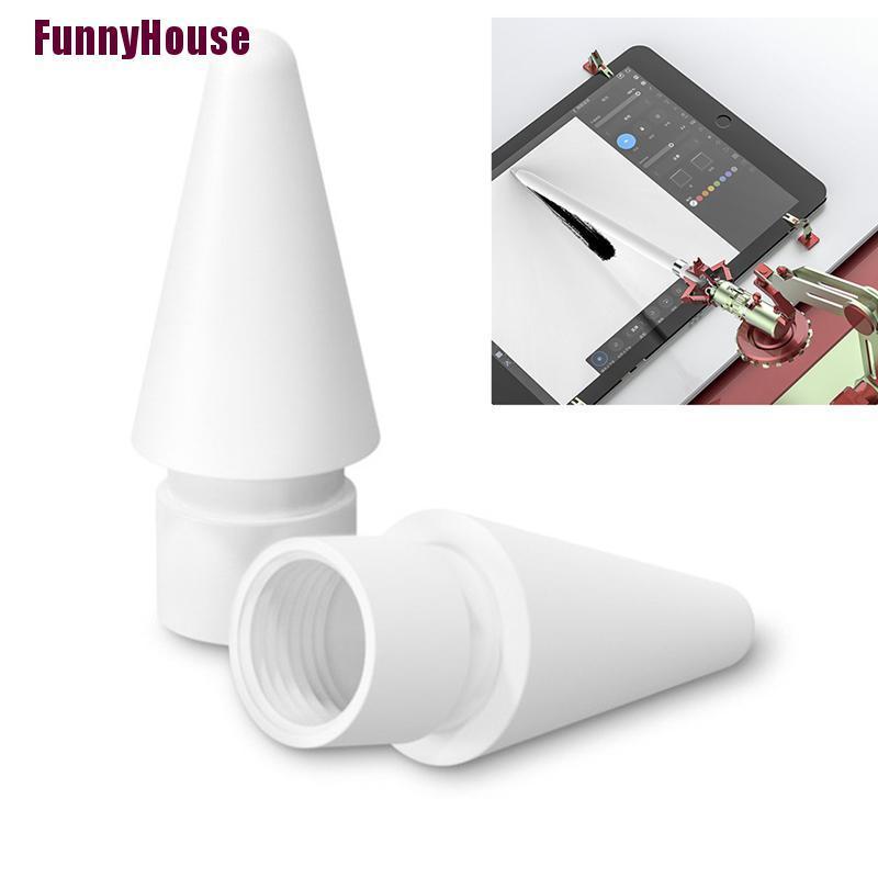 ( Funnyhouse ) อะไหล่เปลี่ยนสําหรับ Apple Pencil 1 St 2nd Generation Tip
