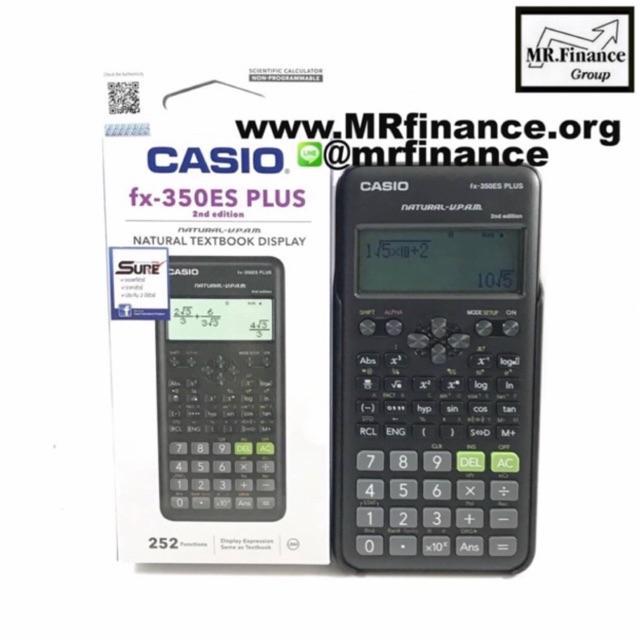 ✅✅✅Casio fx350es Plus และCasio fx350es plus 2nd Edition ของใหม่ของแท้✅ 9IRd