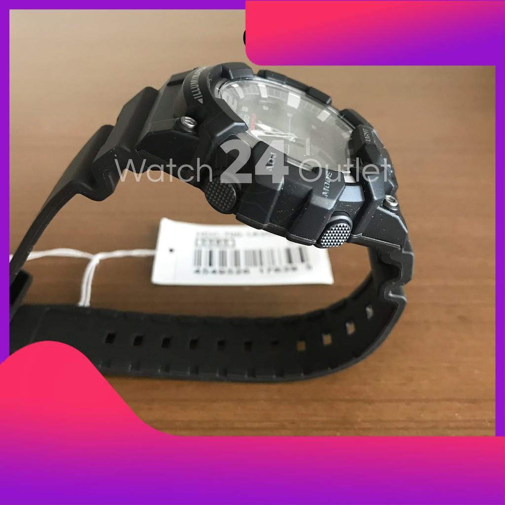 ♥♥♥ CASIO นาฬิกาผู้ชาย ทรง G-SHOCK รุ่น HDC-700 HDC700 สีดำ เขียว ทอง สายยาง พร้อมกล่อง