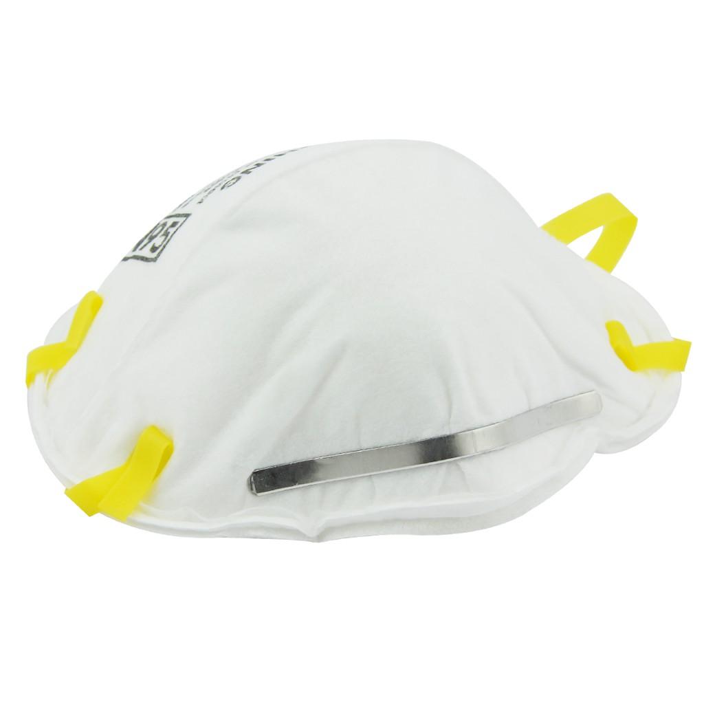3M หน้ากากป้องกันฝุ่นละออง 8210 (N95) 95% มาตรฐานอเมริกา (กล่อง 20 ชิ้น) IqLB