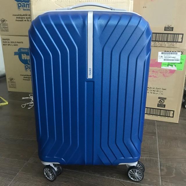 กระเป๋าเดินทาง Todd 20นิ้ว ราคาเต็ม4250 ลดเหลือ1500บาท
