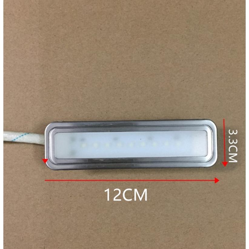 โคมไฟหลอดไฟแสงสว่างชิ้นส่วนเครื่องดูดควันดูดเครื่องดูดควันไฟ LED CFL ยาว 12V220V วงกลม