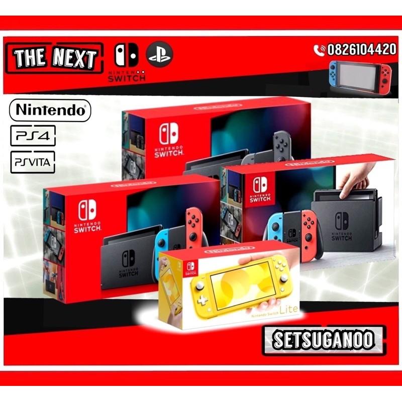Nintendo switch (มือสอง) พร้อมใช้งาน มีประกันให้