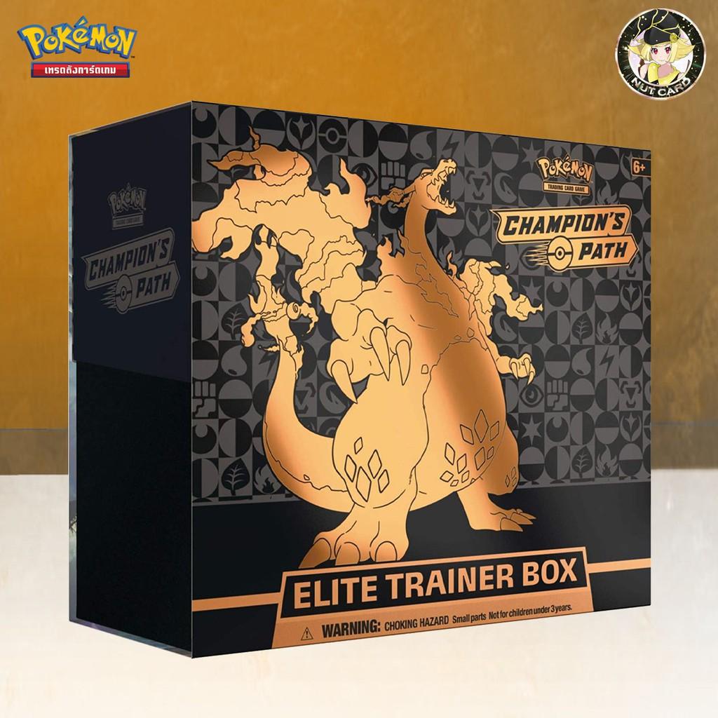 [Pokemon] Pokémon TCG: Sword Shield SWSH 3.5 Champion's Path Elite Trainer Box