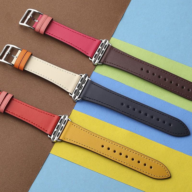 สายนาฬิกาข้อมือสําหรับ Apple Watch 4 Hermes