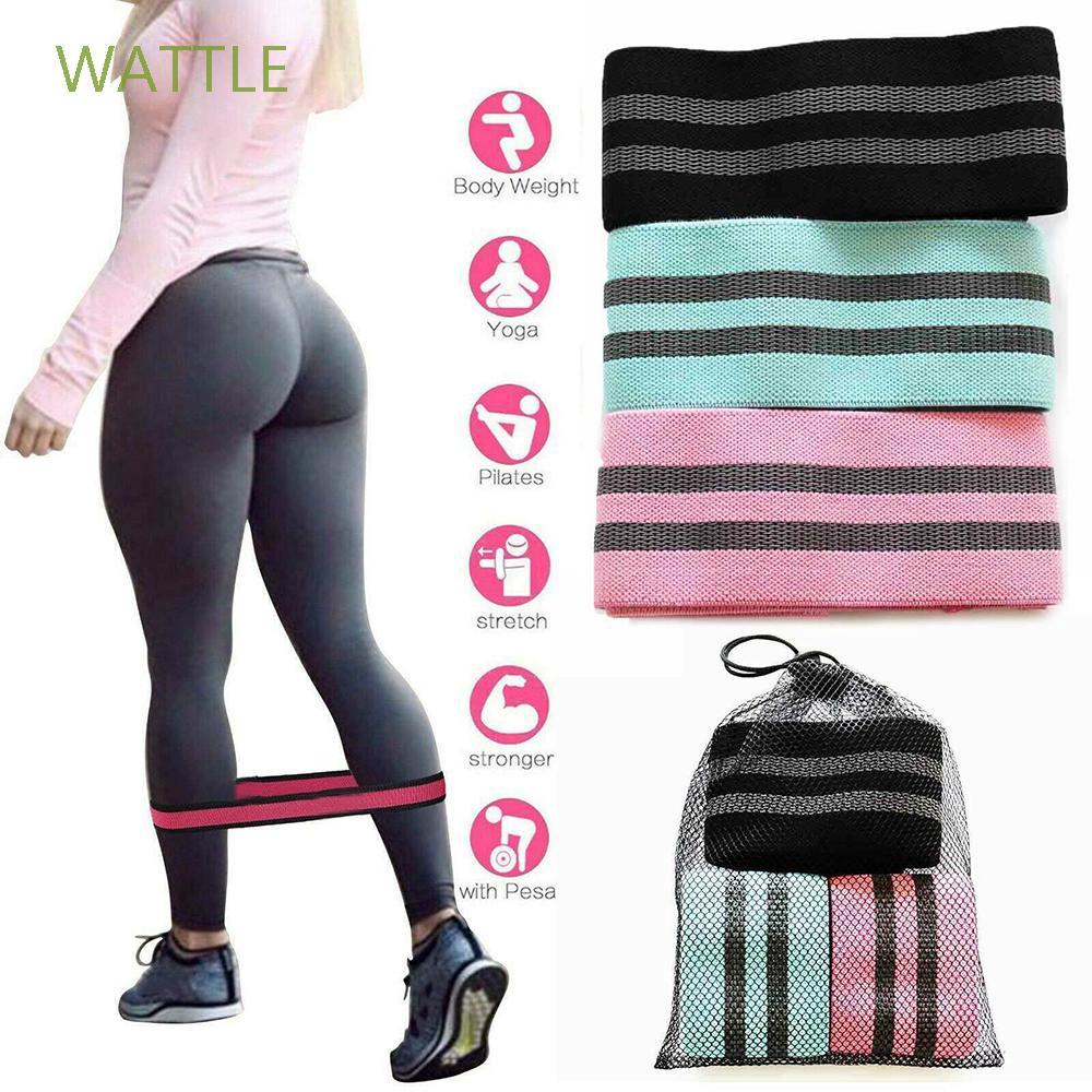 wattle ยางยืดออกกําลังกาย 3 ชิ้น/ชุด