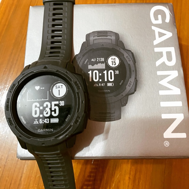 Garmin instinct GPS มือสอง