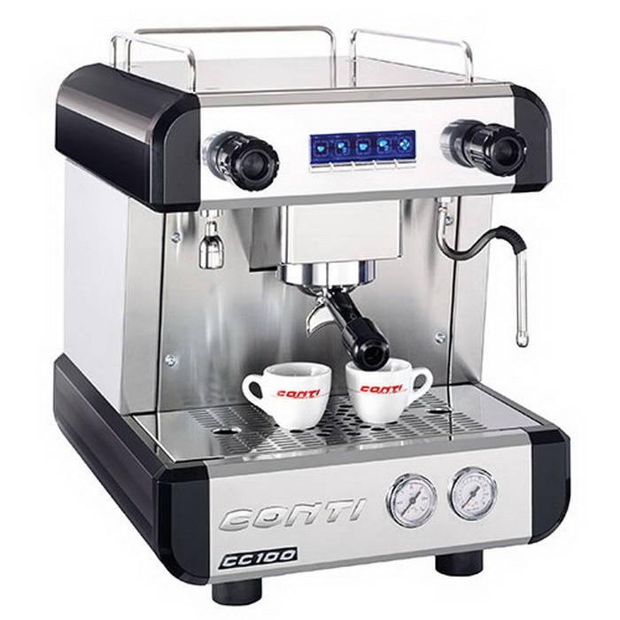เครื่องทำกาแฟ สตรีมนมได้  CONTI รุ่น CC100 1G