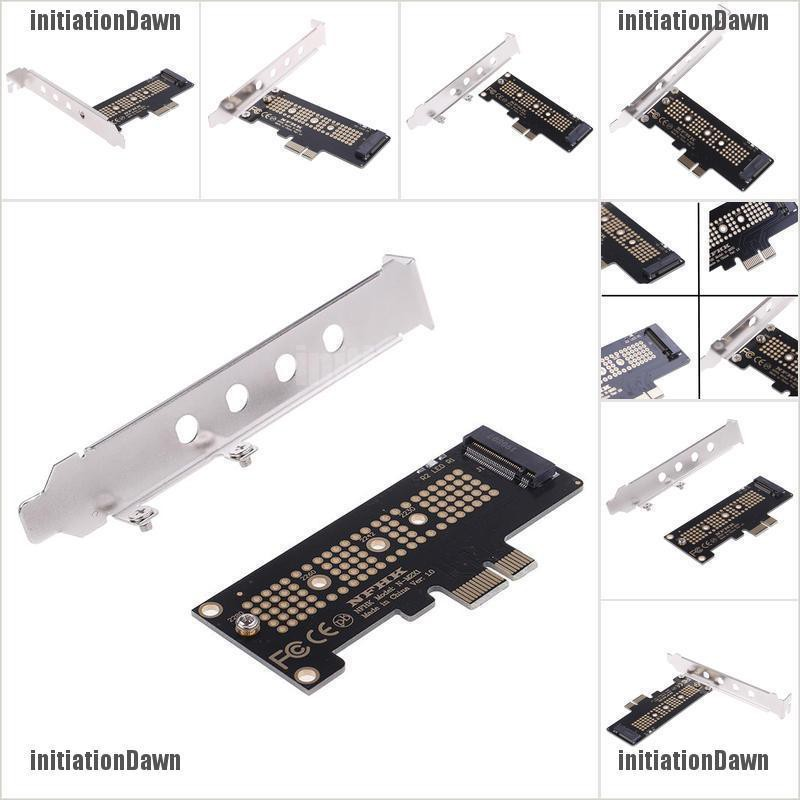NVMe PCIe x4 x2 M.2 NGFF SSD to PCIe x1 converter card adapter PCIe x1 to M.2