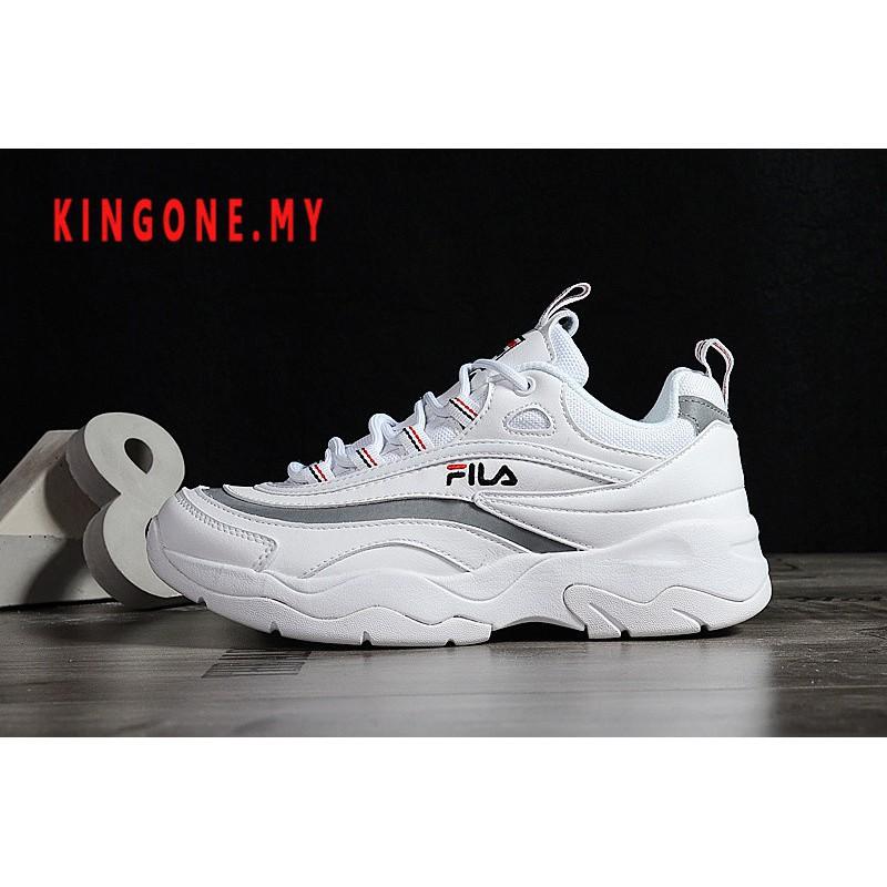 Original ฟิล่า Fila Ray รองเท้าผ้าใบรองเท้าวิ่ง 6