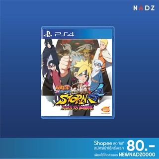 PlayStation 4: Naruto Shippuden: Ultimate Ninja Storm 4 Road to Boruto **พร้อม Patch อัพเดทภาษาไทย** (R3)(EN)