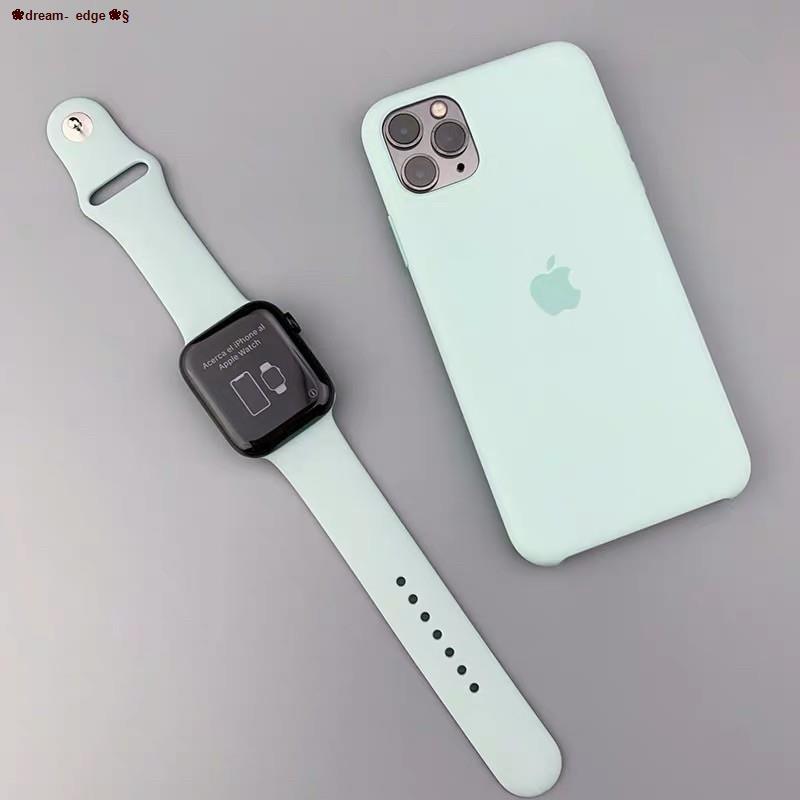 ❀dream- edge❀✼◕✿พร้อมส่ง‼️ สาย สำหรับ Apple Watch สาย สีมาใหม่ series 6 5 4 3 2 1 สำหรับ applewatch ขนาด  42mm 44mm 38mm