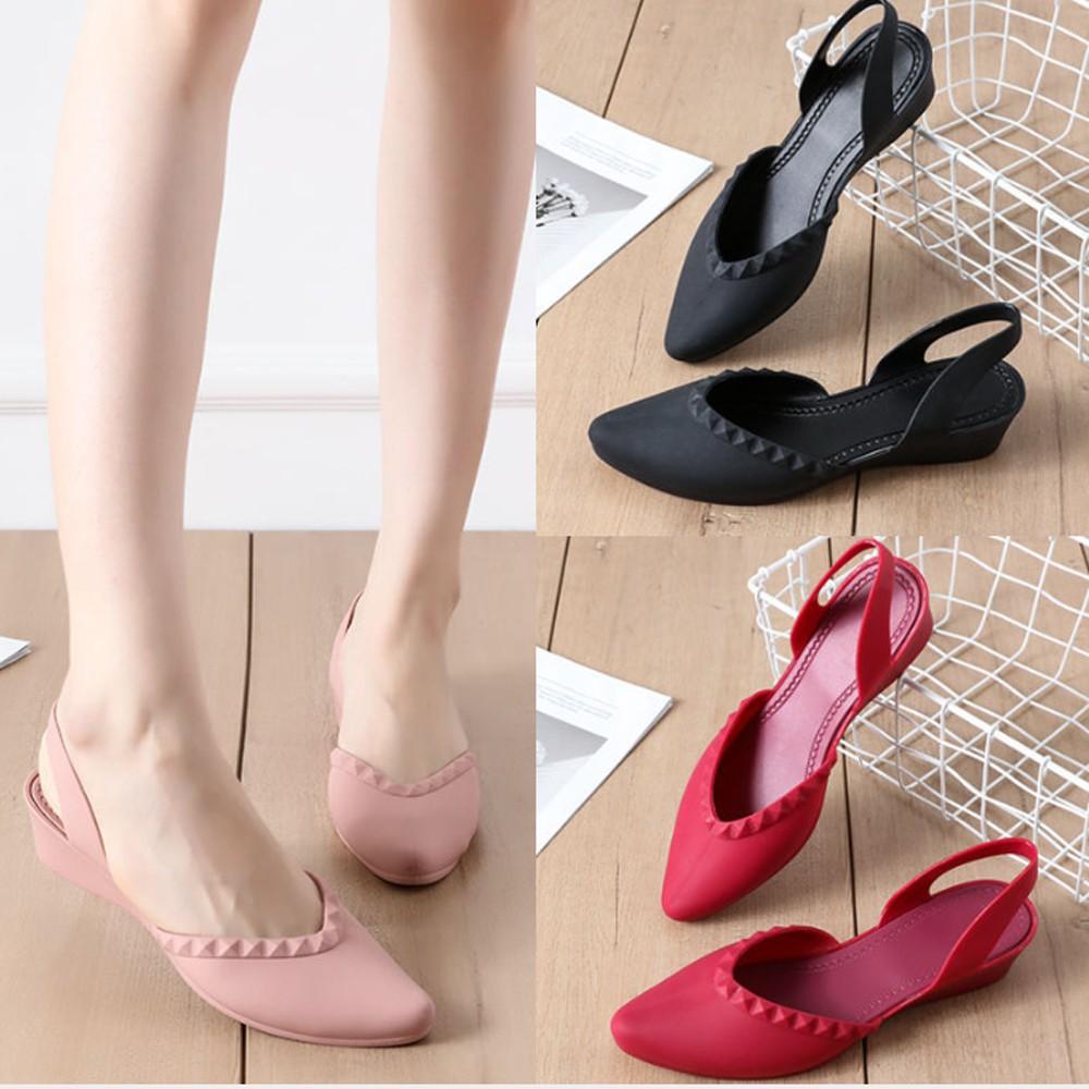 รองเท้าคัชชูหัวแหลม มีส้น รองเท้าคัชชู รองเท้าสวย รองเท้าแฟชั่น หัวแหลม สวย รองเท้าผู้หญิง