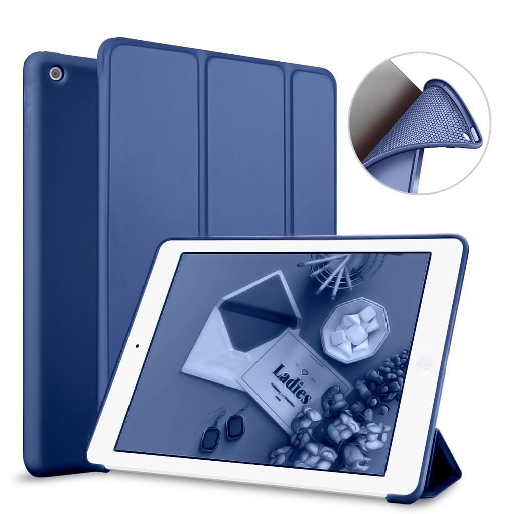 ราคาFlashsale Case IPad เก็บ ApplePencil IPad Air 2 Air 1 เคสหนัง PU พลิกตั้งได้ AUTO