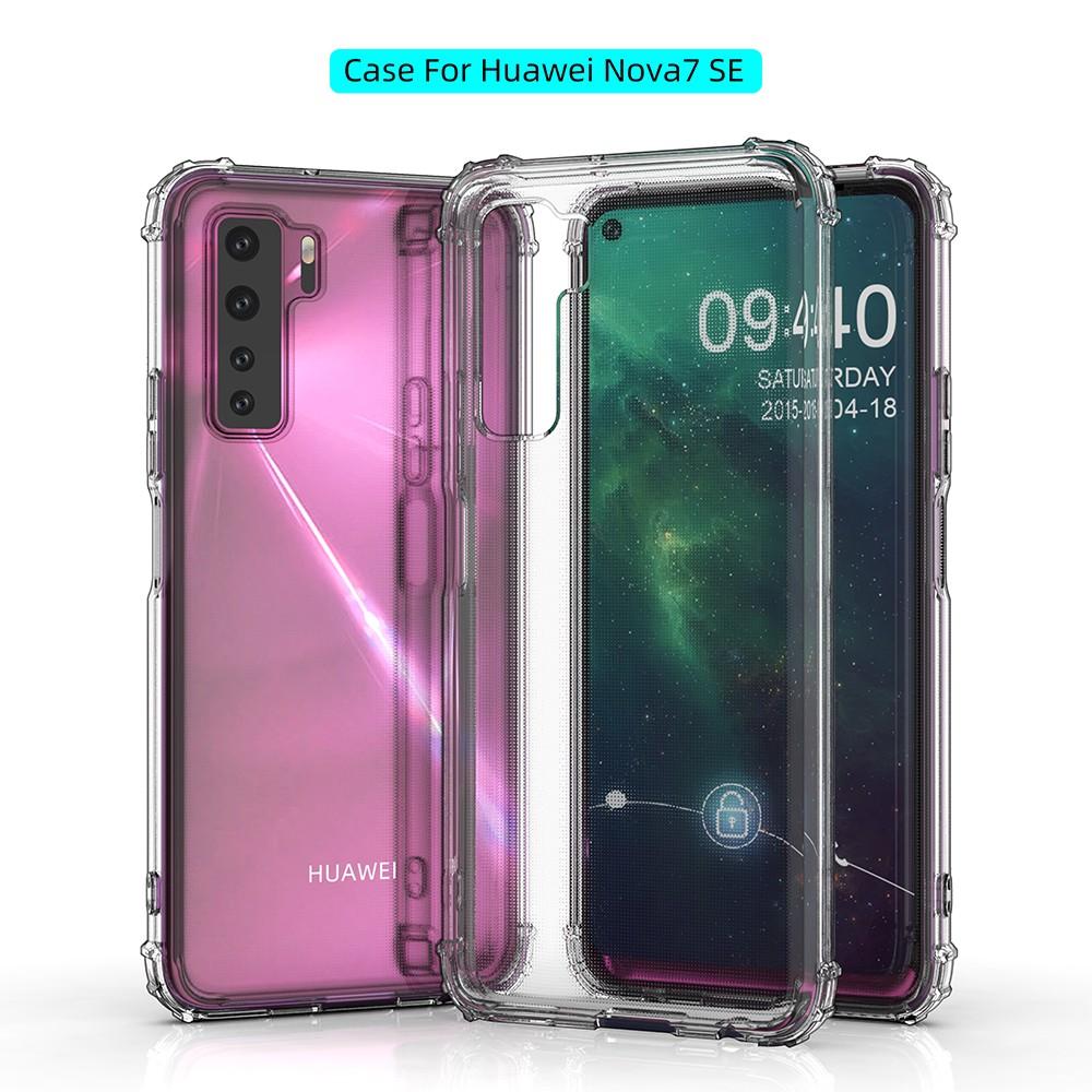 เคสโทรศัพท์มือถือใส แบบนิ่ม สําหรับ Huawei Nova 7 nova7 Pro novita7se nowa6 noga3