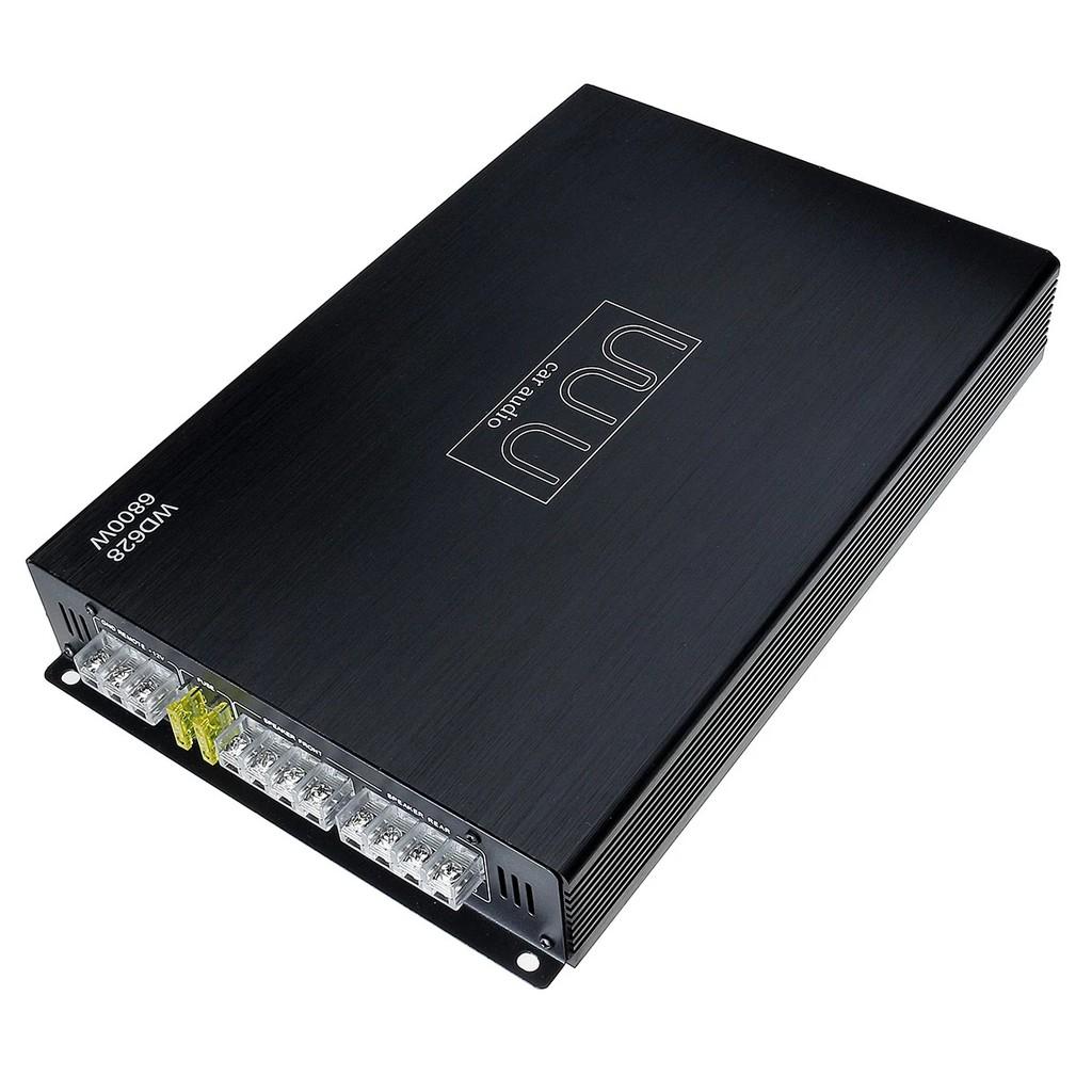6800W 4 Channel Car Audio Amplifier Speaker DC 12V Car Amplifier Vehicle Amplifier Power Stereo Amp