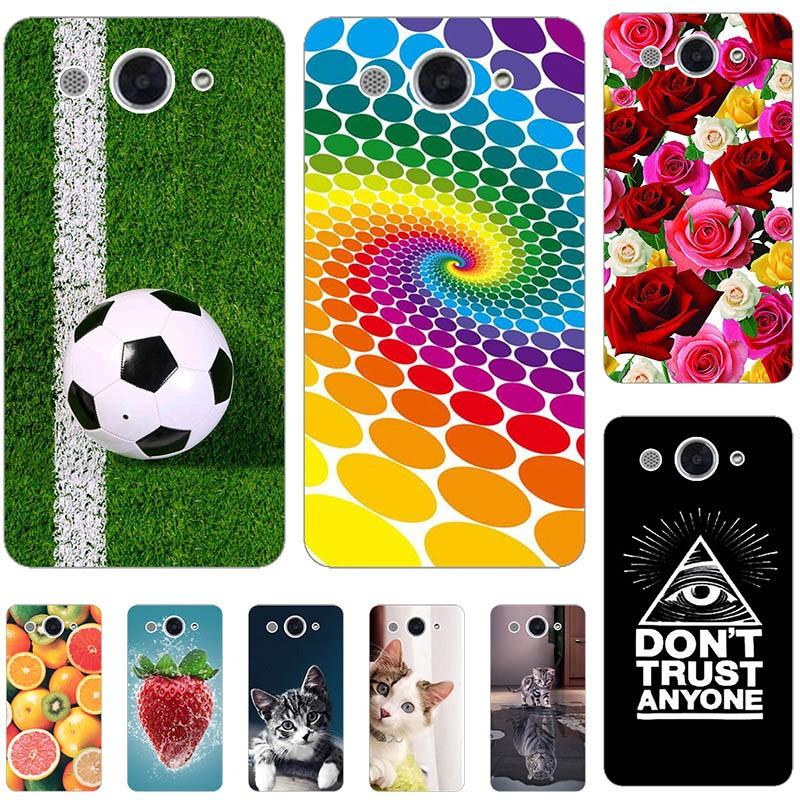 "NEW เคสโทรศัพท์มือถือลายการ์ตูนแมวสําหรับ Huawei Y 3 2018 Huawei Y5 Lite 2017 Cro - L 22 Cro - L 02 Cro - L 03 Cro - U00 5 . 0 """