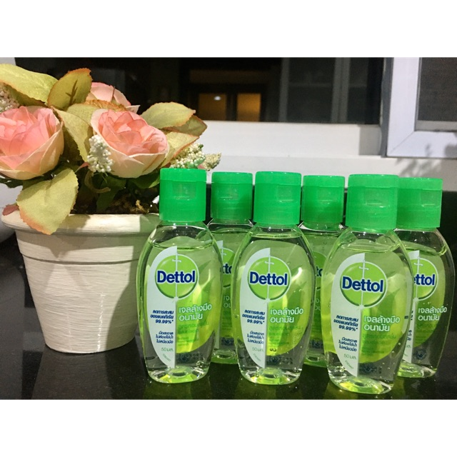 พร้อมส่ง💥💥 Dettol Hand Alcohol Gel เดทตอล เจลล้างมืออนามัย ขนาด 50ml