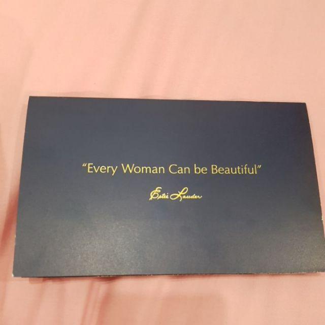 บัตรแต่งหน้า Estee Lauder