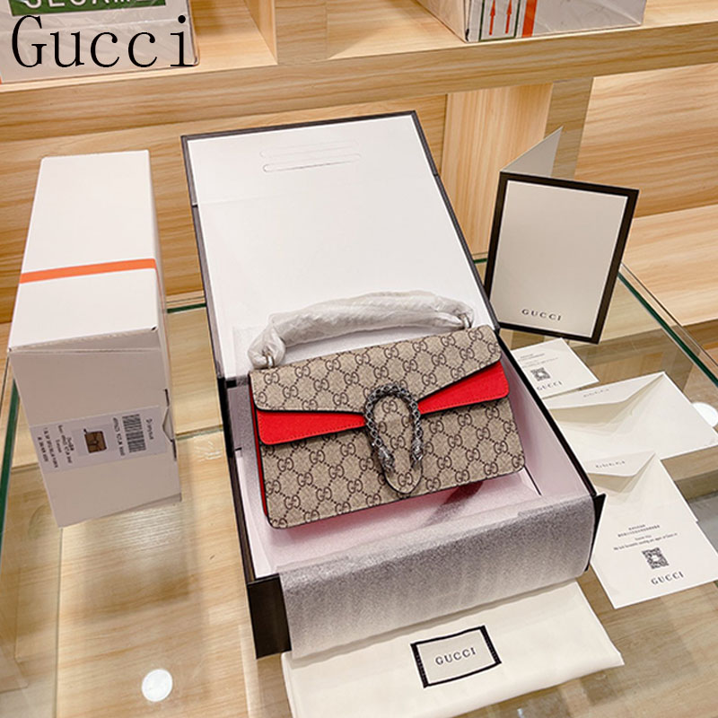 New Gucci กระเป๋า Dionysus Bacchus แบบคลาสสิก