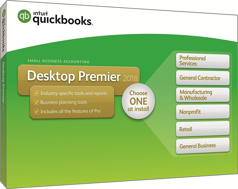 QuickBooks Desktop Premier 2018 (UK Version) - 1 User