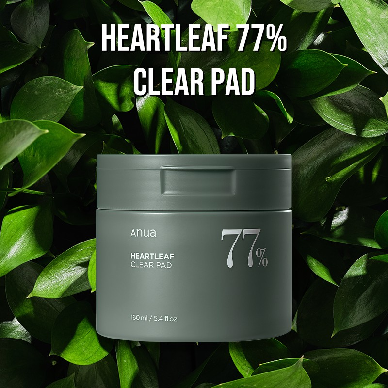 [Anua] Heartleaf 77% Clear Pad(Toner Pad)