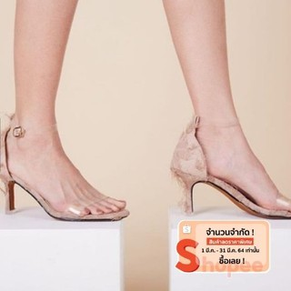 CHAWASHOES-ASTON HEEL BEIGE COLOR
