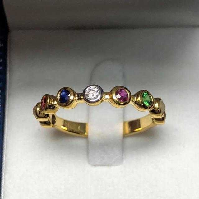 แหวนทองแท้นพเก้าสวยๆราคาโรงงาน