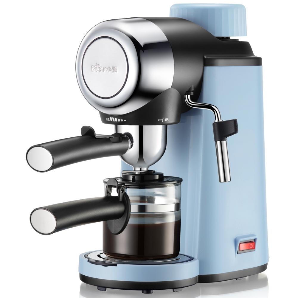 Bear / Little Bear KFJ-A02N1 เครื่องชงกาแฟหน้าแรกการทำอาหารอิตาเลี่ยนมินิกึ่งอัตโนมัติมินิโฟมนม