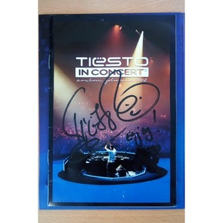 "Signed ""Tiesto In Concert 2"" DVD"