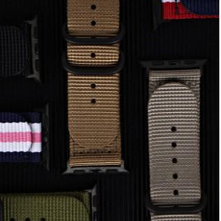 Apple Watch strap แฟชั่ สายไนล่อน  iWatch Series SE 6 5 4 3 2 1  nylon strap 38 40 42 44mm