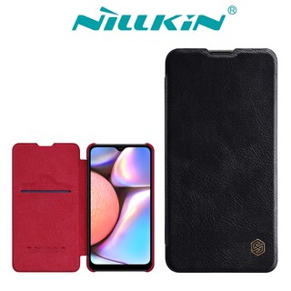 Review NILLKIN เคส Samsung Galaxy A10s รุ่น Qin Leather Case