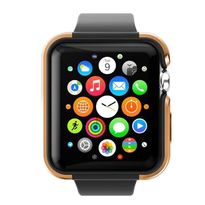 เคสนาฬิกาข้อมือสีทองสําหรับ Apple Watch Case 4 40mm 44mm By X-doria