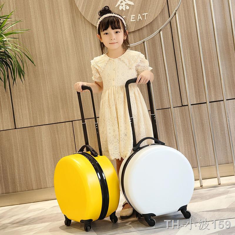 ☃∋☍กระเป๋าล้อลากทรงวงรี Spring Airlines ขนาด 14 นิ้ว รุ่นเกาหลี กระเป๋าเดินทางใบเล็ก กระเป๋าเดินทางเด็กจิ๋ว