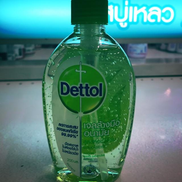 ‼️ Dettol Hand Alcohol Gel 200ml🧤🧤เดทตอล เจลล้างมืออนามัย.