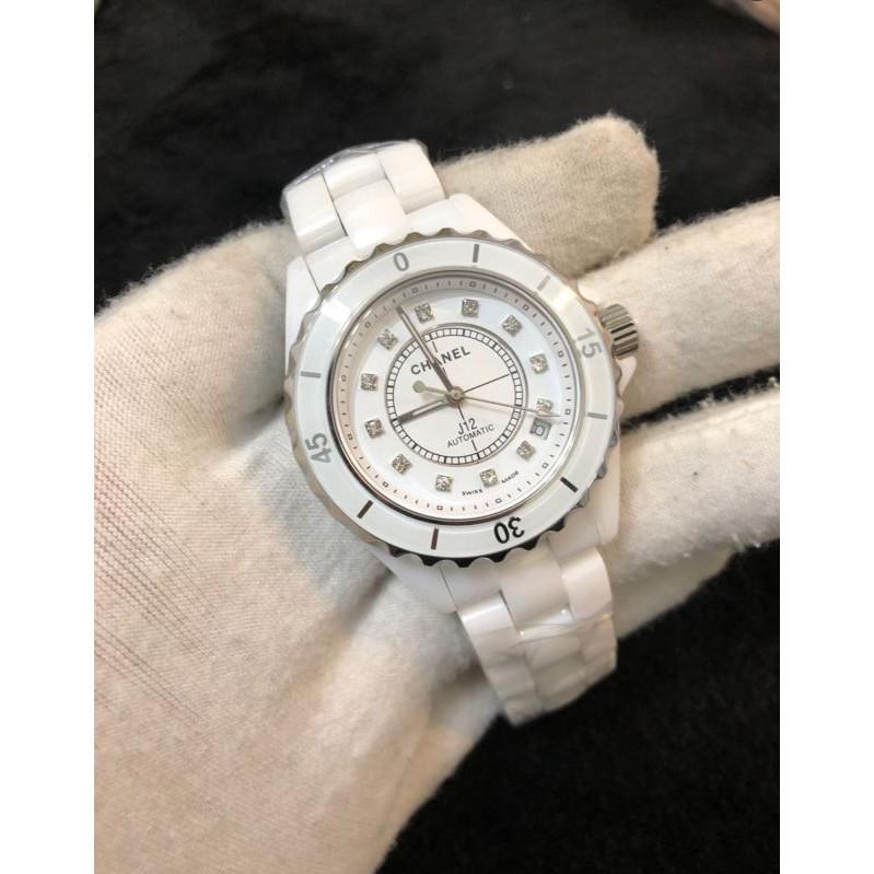 Chanel Chanel J12 ผู้หญิง Watch White Ceramic Watch Spot ยิงจริง