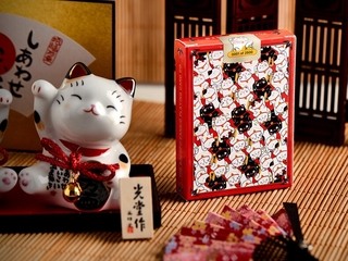 Please COD Bicycle Maneki Neko Playing Cards Red Lucky Cat Deck USPCC Collectable Poker Magic Card Games Magic Tricks Pr