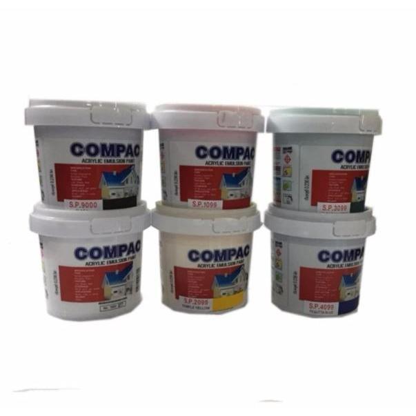 COMPAC สีอะคริลิค (สีน้ำพลาสติก) 0 236 ลิตร (ชุดแม่สี)