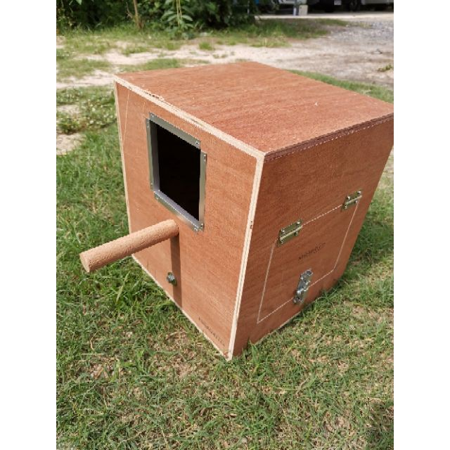 กรงนก รังเพาะเตี้ยซันคอนัวร์ กรีนชีค  บ้านนกเเก้ว กล่องนอน
