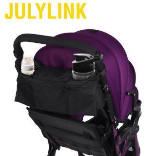 Baby Storage Bag Clear Mesh Stroller Portable Hanging Diaper Organizer Umbrella