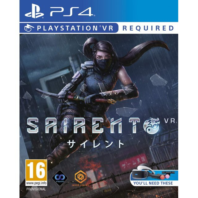 PS4 SAIRENTO VR / แผ่นเกมส์ PS4