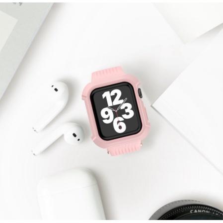 สายนาฬิกาข้อมือซิลิโคนสําหรับ Apple Watch Band 44 มม. 40 มม. 44 มม. 40 มม. Series 6 Se 1 2 3 4 5