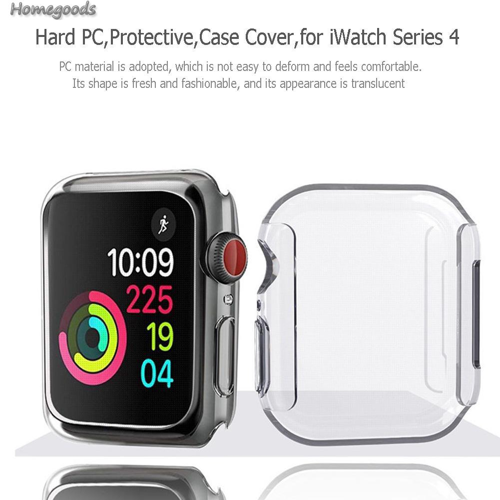 Good Shop❁Hard PC Screen Protective Case Cover Shell for Apple Watch iWatch Series 4